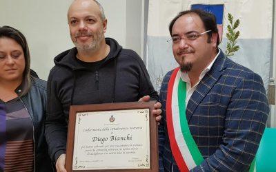 Zoro cittadino  onorario di Petruro Irpino, ComuneWelcome