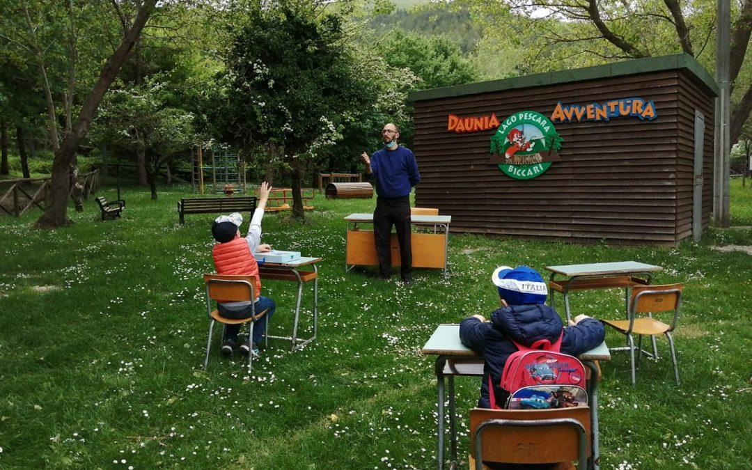 La scuola nel bosco