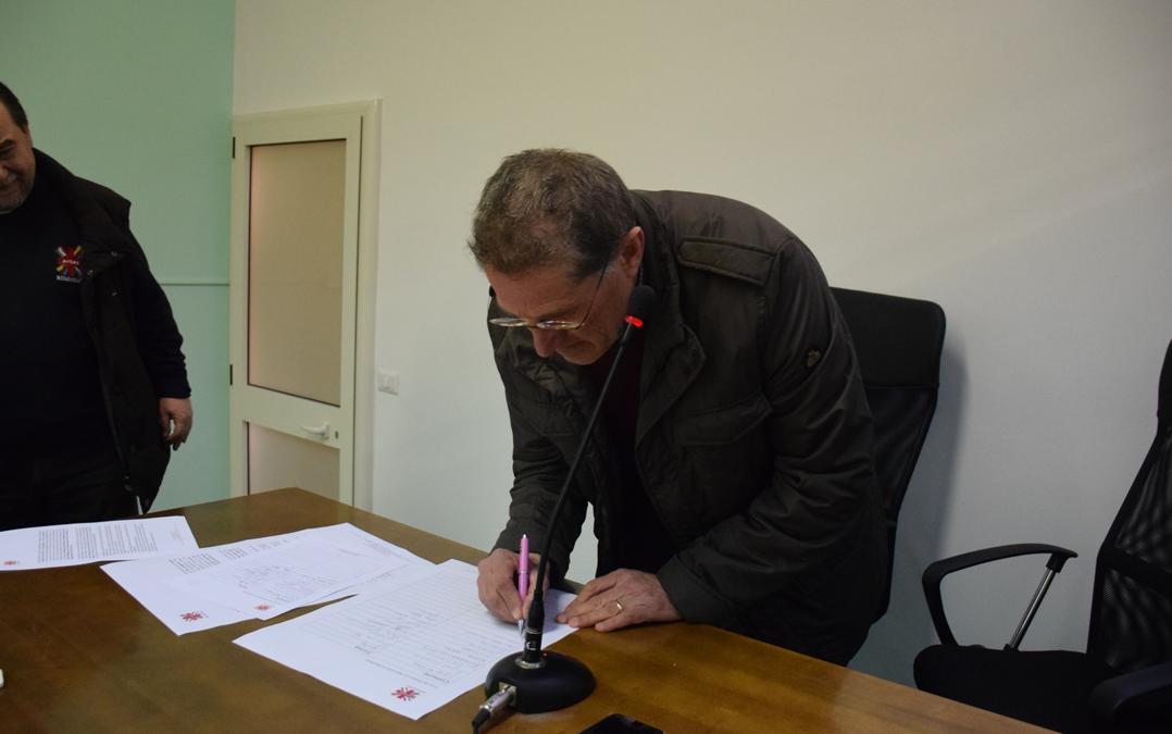 Firma Comune di San Giorgio la Molara