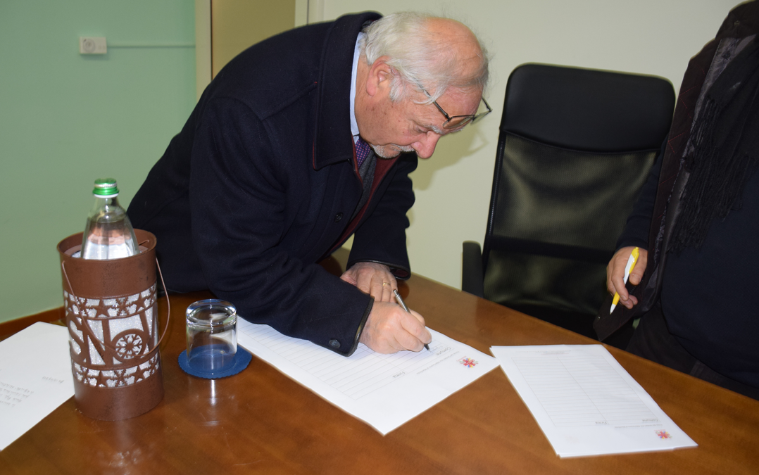 Firma Comune di San Giorgio del Sannio