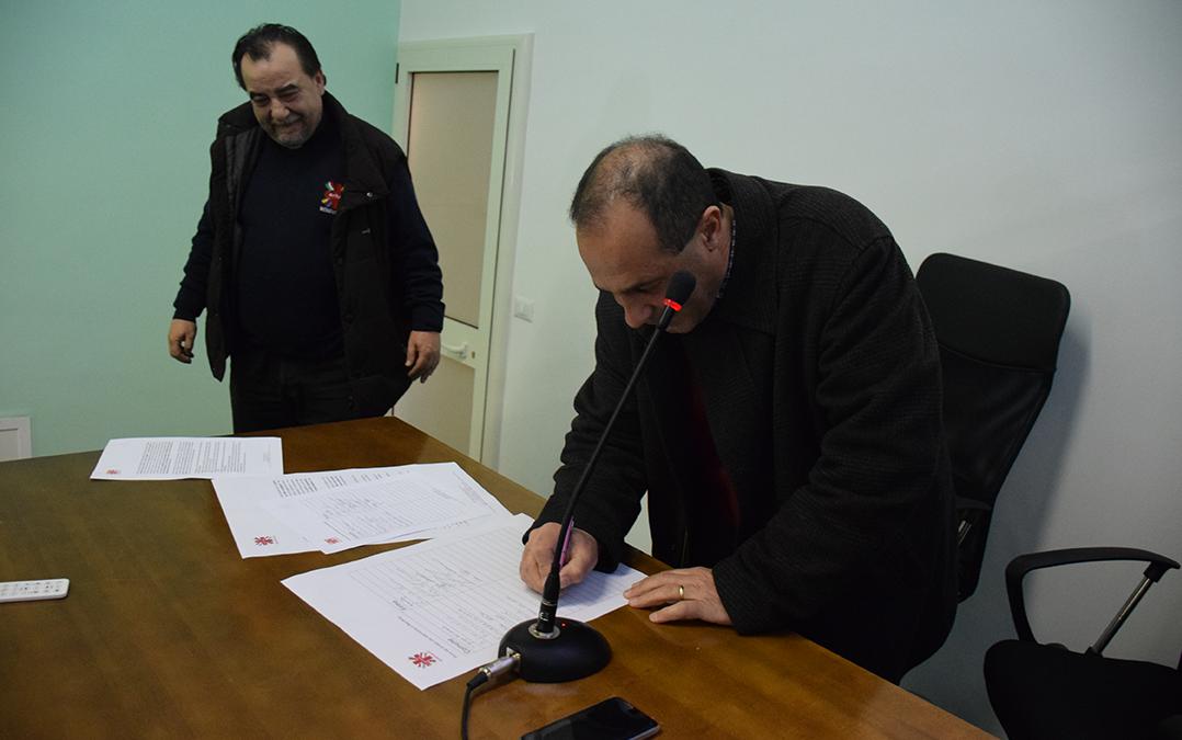 Firma Comune di Sassinoro