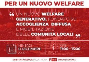 Un nuovo welfare generativo, fondato su accoglienza diffusa e mobilitazione delle comunità locali