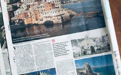 """Roseto Capo Spulico sulle pagine del giornale inglese """"The Guardian"""""""